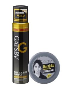 Gatsby Set and Keep Extreme Hold Hair Spray at rs.200