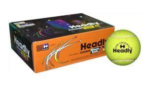Headly Heavy Cricket Tennis Ball  (Pack of 6, Yellow) at rs.118