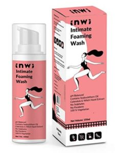 InWi Intimate Foaming Wash with Seabuckthorn Oil, Calendula and Witch Hazel Extract - 150 ml at rs.152