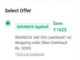 BL Playlist 150 Wireless with Built-in Chromecast Speaker (Black) at rs 4874