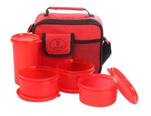 Joyo Freshware Smart Plastic Lunch Box Set at rs.199