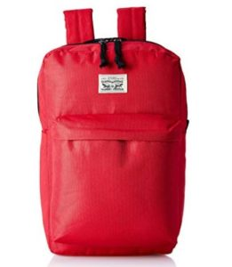 Levi's Fabric 32 cms Red Backpack (38005-0013) at rs.537