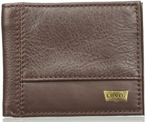 Levi's Leather Brown Men's Wallet (12843-0002) at rs.439