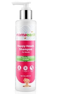 Mamaearth Happy Heads Hair Shampoo 200ml with Biotin at rs.132