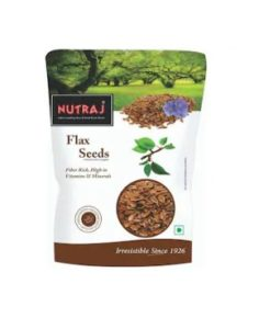 Nutraj Flax Seeds 200g at rs.75