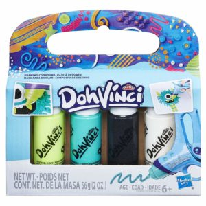 Play-Doh DohVinci 4-Pack Drawing Compound