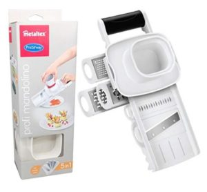 Primeway Metaltex Multipurpose GraterSlicer 5 in 1 at rs.215