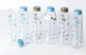 Steelo Conico Printed Bottle Set, 1 Litre, Set of 6 at rs.300