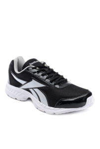 Tata Cliq Reebok Black & White Running Shoes