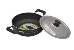 Tosaa Non-stick Kadhai 195 mm at rs.299