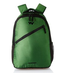 Wildcraft 38 Ltrs Green Casual Backpack (AM BP 4) at rs.599