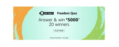 amazon freedom quiz