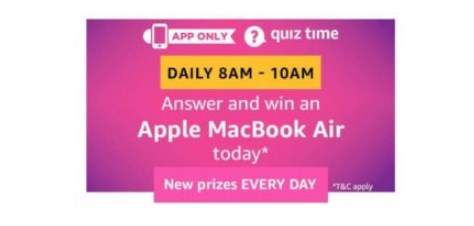amazon quiz mackbook air