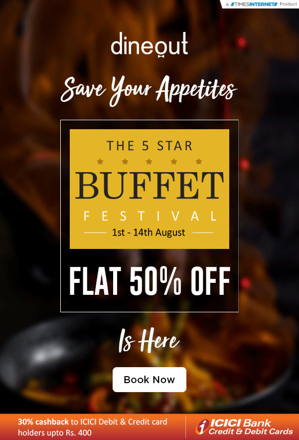 dineout buffet festival