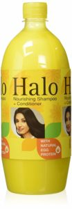 Amazon - Buy Halo Nourishing Shampoo with Natural Egg Protien, 1L at Rs 162