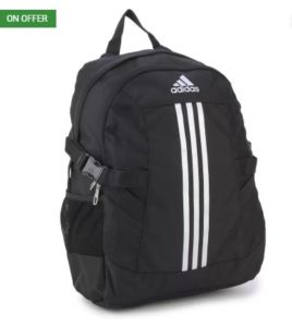 ADIDAS free size Backpack (Black) at rs.599