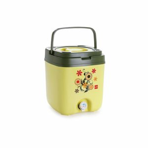 Amazon- Buy Cello Cool Trac Plastic Insulated Water Jug, 10 litres, Pista at Rs 668