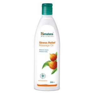 Amazon- Buy Himalaya Herbals Stress Relief Massage Oil, 200ml at Rs 91