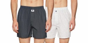 Amazon- Buy Symbol Amazon Brand Men's Printed Boxers (Pack of 2) at Rs 299