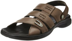 Amazon- Buy Woodland Men's Leather Sandals and Floaters at Rs 1597