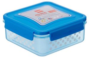Cello Max Fresh Super Click Plastic Multi Storage Container with Lid, 1.5 Litres, Blue at rs.126