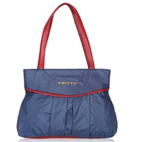 Fristo Blue and Maroon women handbag at rs.228
