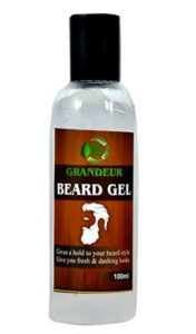 Grandeur Beard Styling Gel, Strong Hold Wax, Natural and Safe 100 ml at rs.99