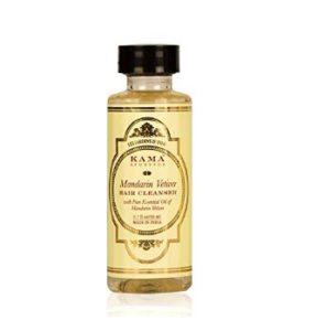 Kama Ayurveda Mandarin Vetiver Hair Cleanser (Shampoo), 50ml at rs.77
