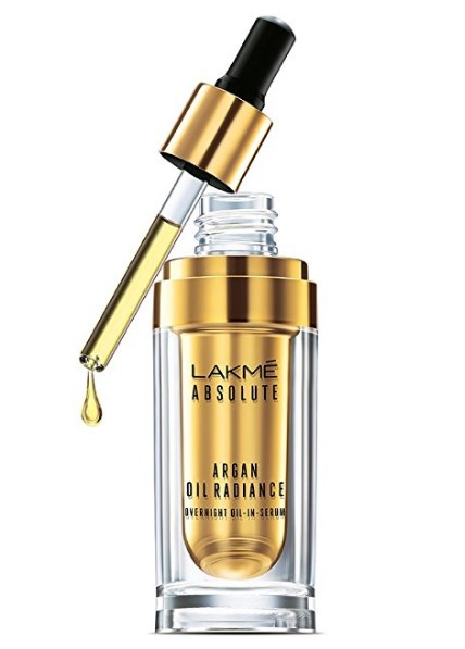 Lakme Absolute Argan Oil Radiance Overnight Oil-in-Serum, 15ml at rs.419