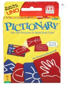 Mattel Games Pictionary  (Multicolor) at rs.129