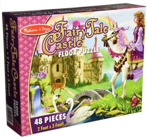 Melissa & Doug Fairy Tale Castle Floor Puzzle at rs.297