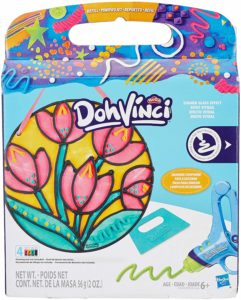 Play-Doh Dohvinci Stained Glass Effect Flower at Rs 196