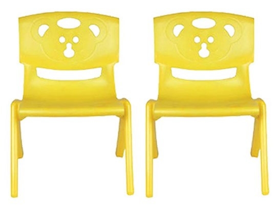Sunbaby Magic Bear Chair, Yellow (Pack of 2) at rs.666