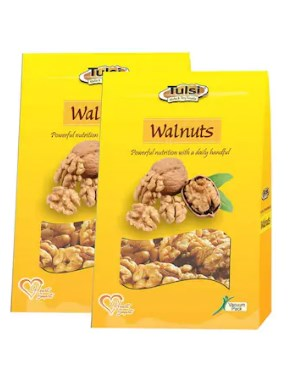 Tulsi California Walnut Kernels Royal 200GM (Pack of 2) atrs.299
