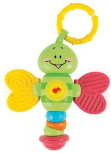 Winfun Light Up Twisty Rattle-Dragonfly  (Multicolor)