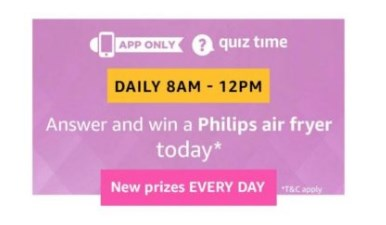 amazon quiz philips air fryer