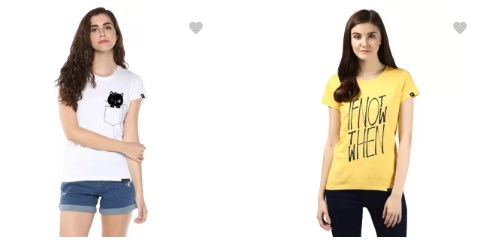 young trendz women's t-shirts 82% off