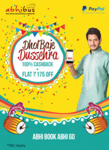 Abhibus Dussehra Special Offer