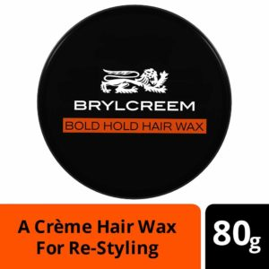 Amazon - Buy Brylcreem Hair Wax - Restyling & Matte Texture, 80 gm at Rs. 127