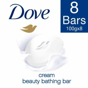 Amazon- Buy Dove Cream Beauty Bathing Bar, 100g (Pack of 8) at Rs 244