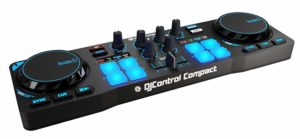 Amazon- Buy Hercules DJ Compact 4780843 Controller (Black and Blue) at Rs 3600