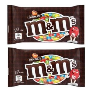 Amazon- Buy M&M'S Milk Chocolate Candy In Sugar Shell,( 45 Grams*Pack Of 2) at Rs 110