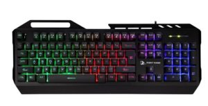Amazon - Buy Night Hawk NK102 FPS Gaming Keyboard with 3 Colour Changeable LED and 19 Anti-Ghosting Keys (Multicolour) at Rs. 899