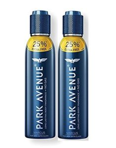 Amazon- Buy Park Avenue Marcus Body Fragrance, 150ml (Pack of 2) at Rs 219