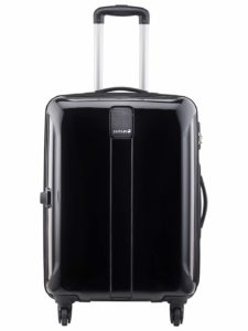 Amazon- Buy Safari Polycarbonate 77 cms Black Hardsided Check-in Luggage at Rs 2977