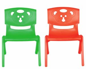 Amazon- Buy Sunbaby SB-CH-05-gr Magic Bear Chair (Set of 2 Pieces) (Green/Red) at Rs 629