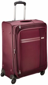 Amazon- Buy VIP Plazma Polyester 56 cms Maroon Softsided Cabin Luggage at Rs 1940