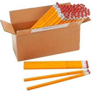 AmazonBasics Wood-cased #2 HB Pencils - Box of 96 Rs 249