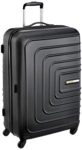 American Tourister Sunset Square ABS 77 cms Black Hard Sided Suitcase