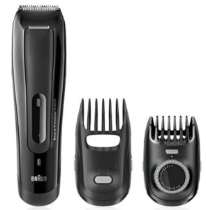Braun BT5070 Cordless and Rechargeable Beard Trimmer for Men